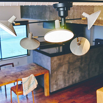 Roanoke ロアノーク シーリングライト 天井照明 北欧デザイン img2