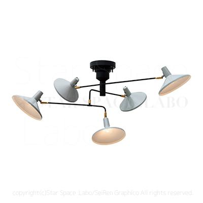 Roanoke ロアノーク シーリングライト 天井照明 北欧デザイン img3_thumb