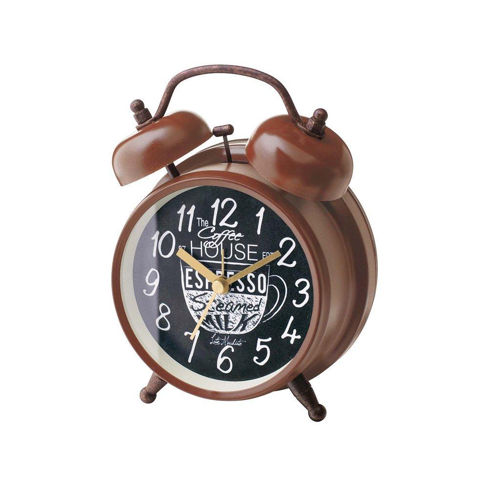 Coffee Break コーヒーブレイク CLOCK 置き時計 目覚まし時計 img3_thumb
