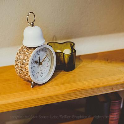 Lavia ラヴィア WALL CLOCK 置き時計 目覚まし時計 img2