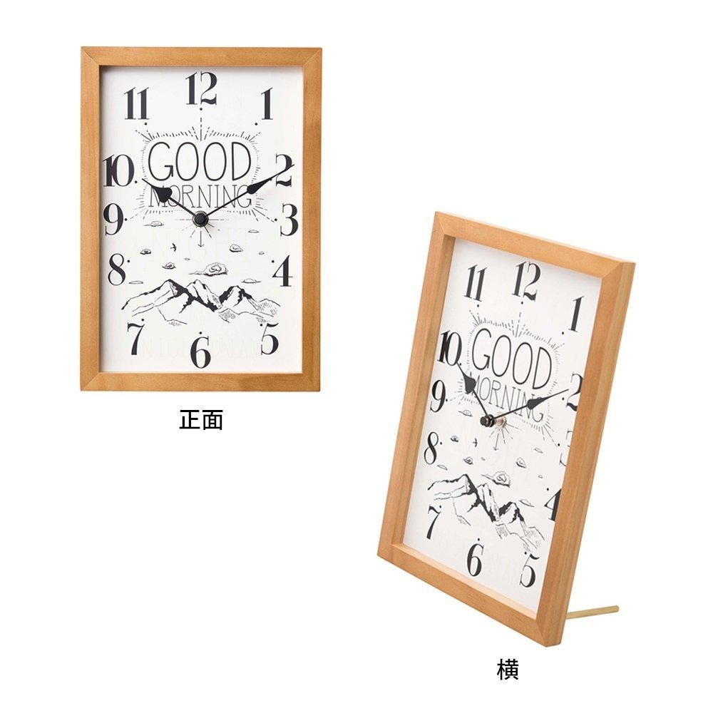 グッドモーニング・グッドナイト  壁掛け時計 置き時計 静かな時計 img3_thumb
