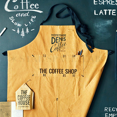 TheCoffeeStreet コーヒーストリート エプロン img2