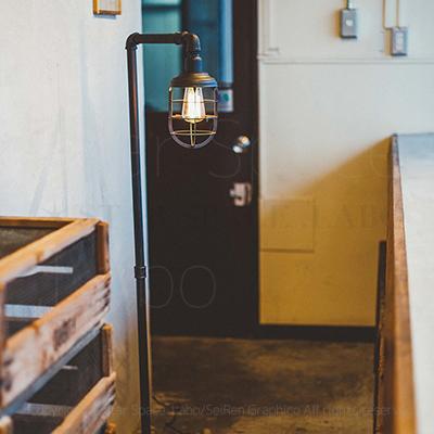 Kosel コーゼル ガード付き フロアライト 間接照明 ファクトリーテイスト img2