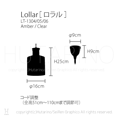 Lollar ロラル ペンダントライト 天井照明 img3_thumb