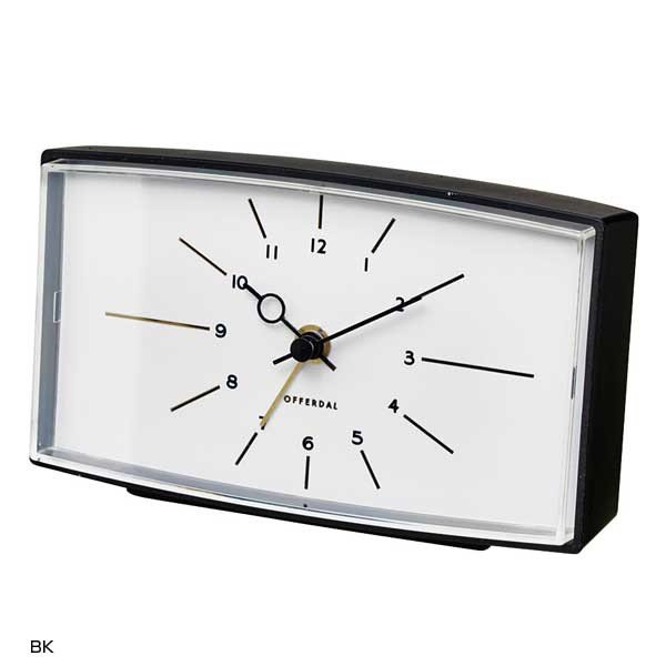 CL-3040 Robledo ロブレド TABLE CLOCK 置き時計 目覚まし時計